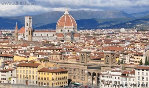 Панорамный вид на Флоренцию