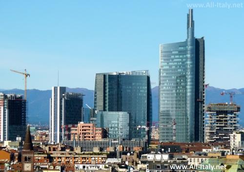 Небоскребы Милана