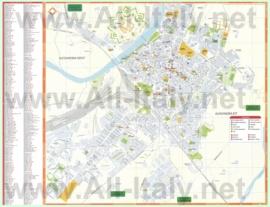 Туристическая карта Алессандрии с отелями и достопримечательностями