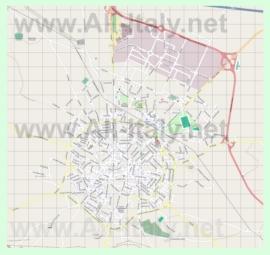 Подробная карта города Андрия