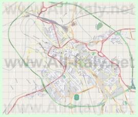 Подробная карта города Беневенто