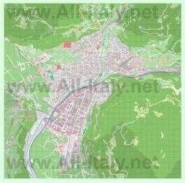 Подробная карта города Больцано