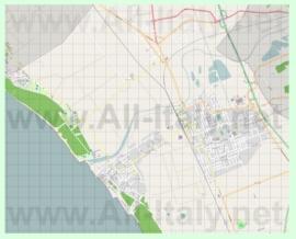 Подробная карта города Чечина