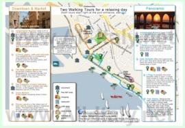 Туристическая карта Чивитавеккьи