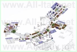 Схема аэропорта Рима - Фьюмичино