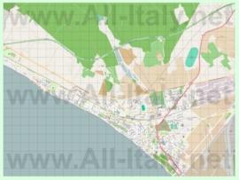 Подробная карта города Фоллоника