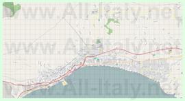 Подробная карта города Формия