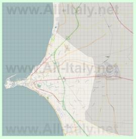 Подробная карта города Галлиполи