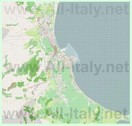 Подробная карта города Кротоне