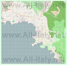 Подробная карта города Леричи