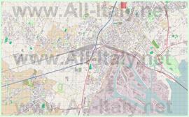 Подробная карта города Местре