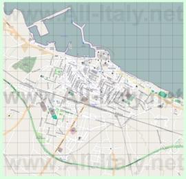 Подробная карта города Мольфетта