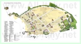 Подробная туристическая карта города Помпеи