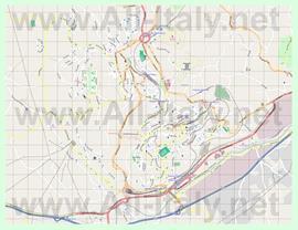 Подробная карта города Потенца