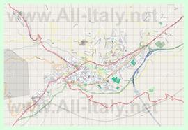 Подробная карта города Терамо