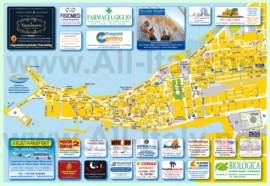 Туристическая карта Трапани с достопримечательностями
