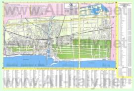 Туристическая карта Виареджо с достопримечательностями