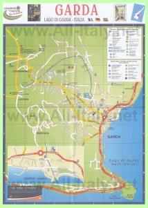 Карта города Гарда