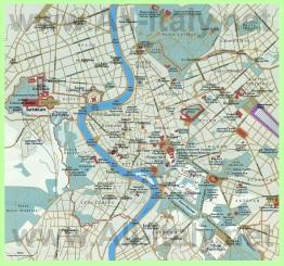 Карта Рима на русском языке
