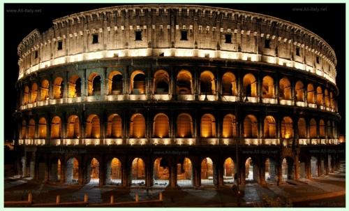 Визитная карточка Италии - Колизей