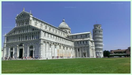 Один из самых узнаваимых городов в мире - Пиза