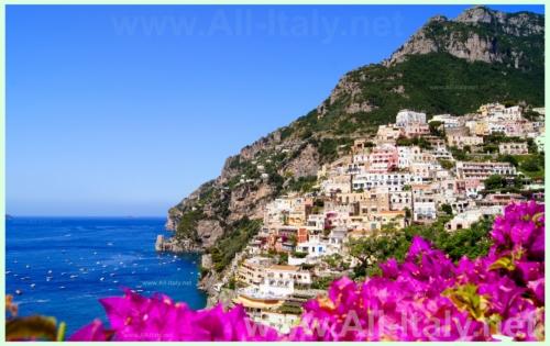 Живописное побережье Италии