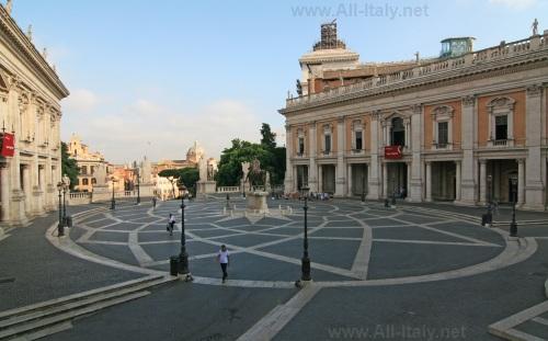 Капитолийский холм в Риме